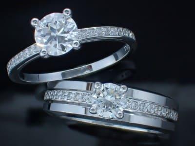 pierścionki zaręczynowe 18